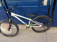 Twentyfourseven dirt/jump bike