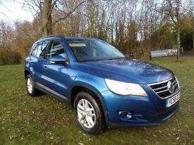 VW TIGUAN 2.0TDI S140*FINANCE AVAILABLE*LADY OWNER FROM 2010