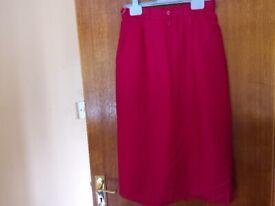 House of Fraser pure wool skirt.