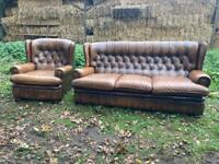 Chesterfield Sofa suite Delivery available