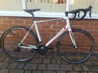 Mens large Giant allux defy road bike