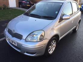2005 TOYOTA YARIS T SPIRIT D-4D 1.4 DIESEL 5 DOOR ONE FORMER KEEPER LOW MILEAGE £30 RODA TAX **FHS**