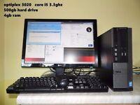 Dell Optiplex core i5 desktop system