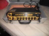 Bass Amp Little Mark II head and SWR Working Man speakers
