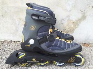 Like NEW K2 Inline Skates 72mm and 76mm/78A Men's Size 9.5