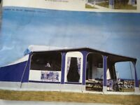 Trio sport family blue awning and tall Annex