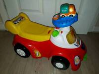 Vtech Toot Toot Drivers Launch And Go Ride On With Toot Toot Car