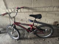 Good lady and child bike for sale
