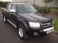 2007 Ford Ranger Thunder Leather, 2 Private Owners No VAT