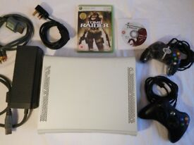Xbox 360 bundle, 2 controllers, 2 games, working power supply plus leads. Spares or repair. £25 ono