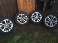 Mercedes C220 W204 alloy wheels