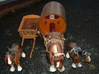 Horse Ornaments and Carriage / Cart