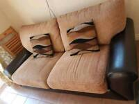 Small sofa for sale. £10
