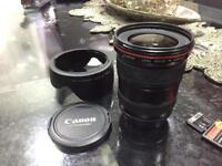 Canon 17 40 f4 L Series lens