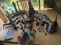 Micro Machines Military Laser Attack Airstrip - Massive Army Base and Toys Lot