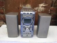 Hitachi radio, cd player, aux