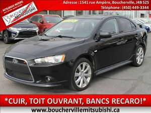 2014 Mitsubishi Lancer Ralliart*CUIR, TOIT OUVRANT, ROCKFORD*