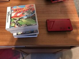 Nintendo DS with 6 games