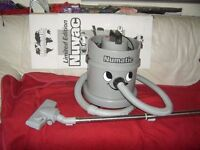 NUMATIC GREY LIMITED EDITION HENRY HOOVER VACCUM CLEANER 1200 WATT