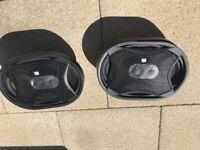 6x9's parcel shelf speakers