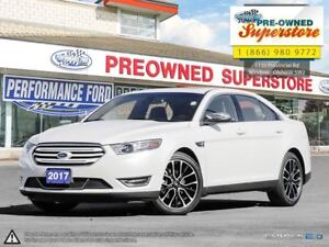 2017 Ford Taurus Limited***AWD, leather, NAV***