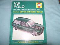 VW Polo Haynes Manual 1982-1990