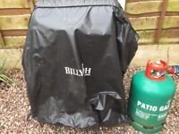 Gas BBQ used condition with cover and large gas bottle. Pick up only