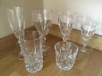 30 x Crystal Cut Glasses