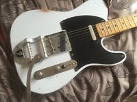 50s Fender Style Relic'd Telecaster with Bigsby