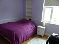 A very spacious double room situated in Wembley. Couples welcomed.