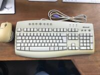 Microsoft Internet Keyboard - RT9410 and rollerball mouse