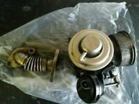 Vw golf gttdi pd150 arl turbo diesel 1.9 egr valve with actuator and pipe