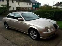 Jaguar s type se excellent condition