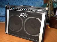 PEAVEY RENOWN 2X12 GUITAR COMBO AMP 120 WATTS . MADE USA