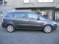 Vauxhall Zafira 1.7 DIESEL Low Mileage LONG MOT 7 Seater MPV not sharan galaxy vito touran previa