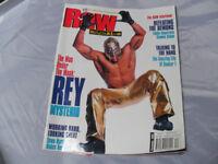 WWE RAW Magazine December 2002 Rey Mysterio, Booker T, The Rock (Wrestling, WWF)