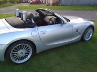 BMW Z4 ROADSTER GREAT CONDITION FSH LEATHER INTERIOR POWER ROOF (SWAP PX P/X PART EXCHANGE WHY?)