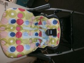 Chicco High Chair for use at Dining Table