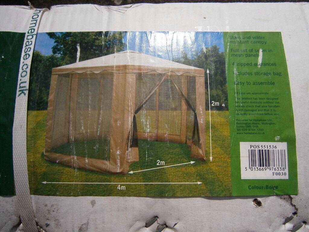 argos hexagonal gazebo in coventry west midlands gumtree. Black Bedroom Furniture Sets. Home Design Ideas