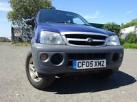 05 DAIHATSU TERIOS TRACKER 1.3 4X4 MOT MAY 019,2 OWNERS FROM NEW,2 KEYS,PART HISTORY,LOVELY 4X4