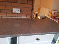 Kitchen Worktop 3 different Lengths