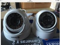 Swann pro-843 twin pack cameras