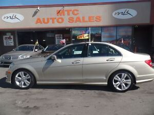 2012 Mercedes-Benz C-Class C300 4MATIC, SUPER CLEAN, SUNROOF, LE