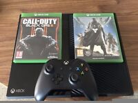 XBOX One 500gb + Controller + 2 Games