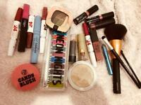 Selection of Make up Eyeshadow and Brushes