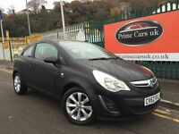 2012 62 Vauxhall Corsa 1.2 i 12v Active 3 Door 5 Speed Manual Low Miles FaceLift