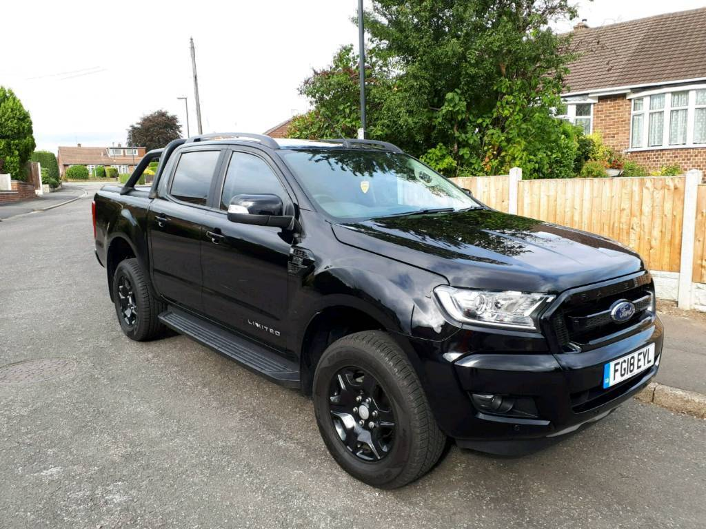 ford ranger black edition double cab 2 2 tdci in. Black Bedroom Furniture Sets. Home Design Ideas