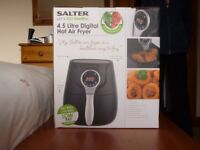 SALTER 4.5 LITRE DIGITAL HOT AIR FRYER - FOR LOW FAT COOKING
