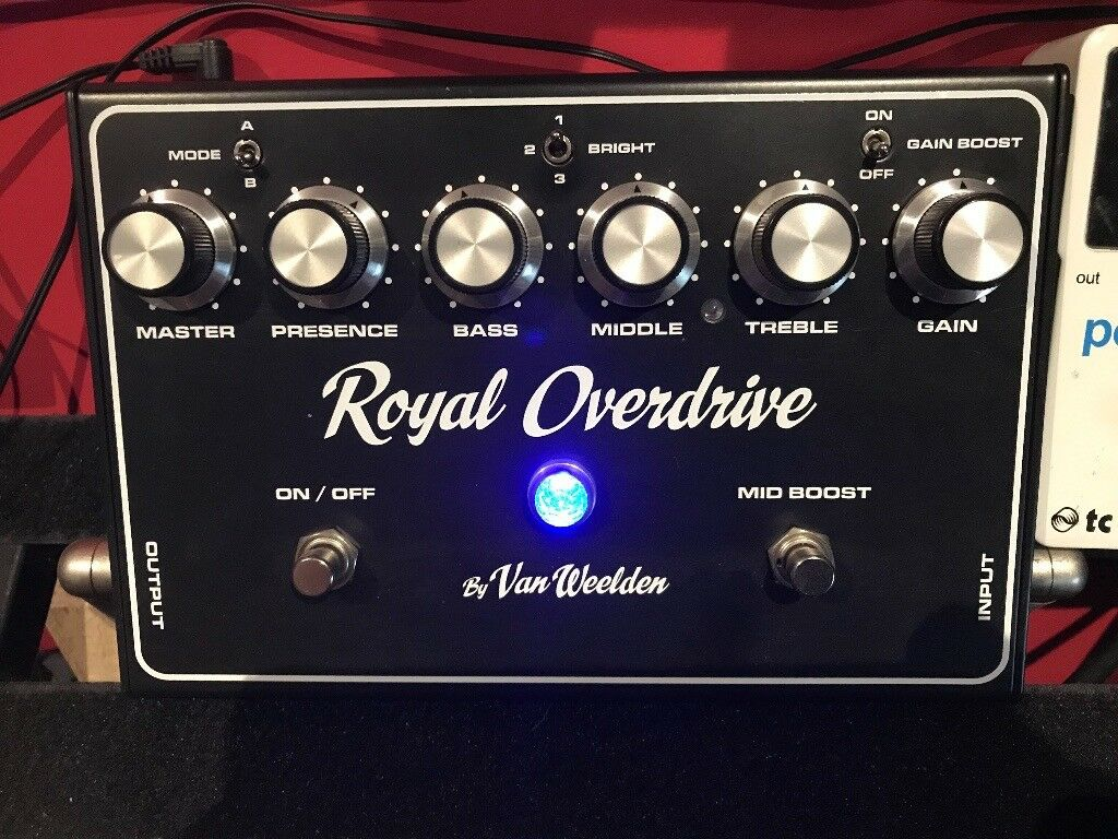 Van Weeldon Royal Overdrive - Dumble Type Guitar Pedal | in Prestatyn,  Denbighshire | Gumtree