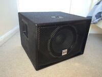 Alto Ts Sub 12 in new condition. Active speaker